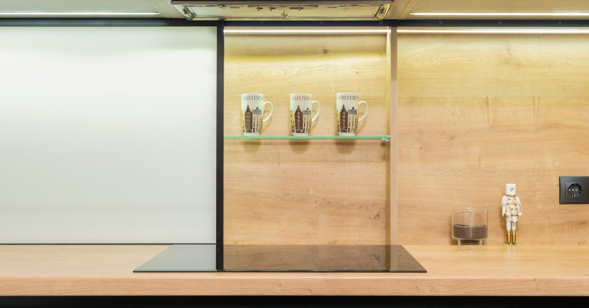 A glass display case